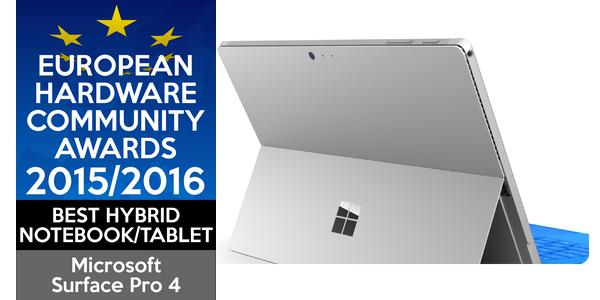 32. European-Hardware-Community-Awards-Best-Hybrid-Microsoft-Surface-Pro-4